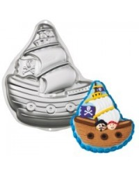 image: Pirate ship cake pan