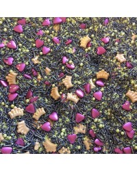Sprinkle Medley Queen of Hearts (Gold Burgundy) 150g