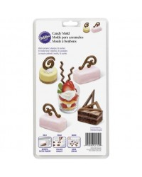 Dessert accent shapes chocolate mould
