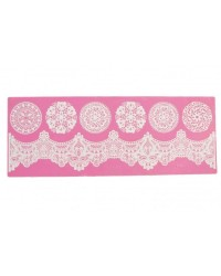 Cake lace Claire Bowman mat Regal Lace