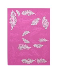 Cake lace Claire Bowman mat Feathers