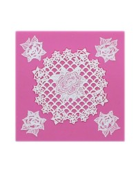 Cake Lace Claire Bowman mat Rosie