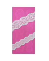 Cake Lace Claire Bowman mat Broderie Anglaise