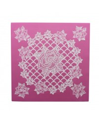 Cake Lace Claire Bowman mat Ring O Roses