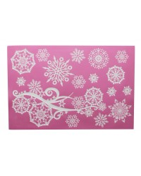 Cake lace Claire Bowman mat Crystal (snowflakes)