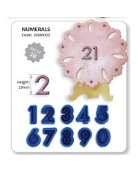Jem numerals 0 to 9 number cutter set