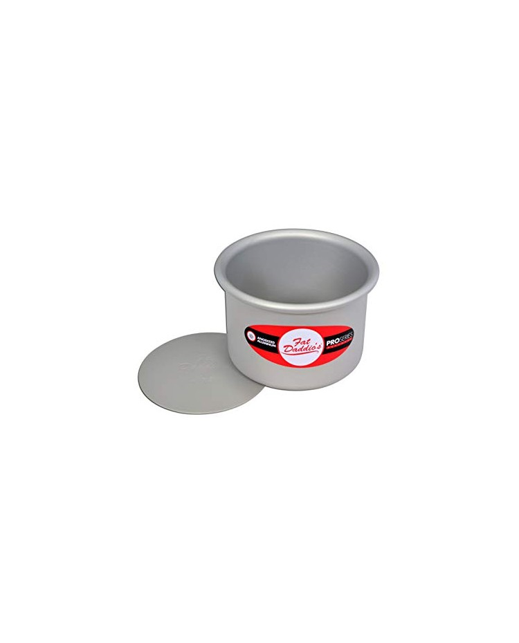 3 Inch Round Removable Bottom Fat Daddios Cake Pan