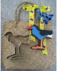 Pukeko cookie cutter