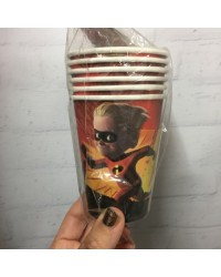 The Incredibles party cups (6)