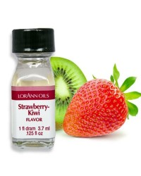 Lorann Oils flavouring 1 dram Strawberry Kiwi