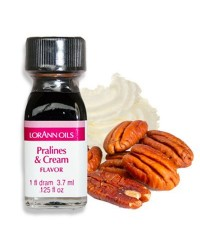 Lorann Oils flavouring 1 dram Pralines and Cream (Pecan)