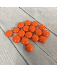 Chocolate drop gems buttons ORANGE 100g