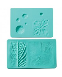Wilton flower impression veining set 2 silicone style no 2