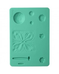 Wilton flower impression veining set 2 silicone style no 1