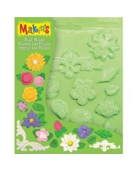 Makins push mould Flowere floral