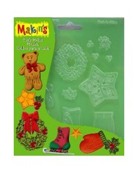 Makins push mould Christmas decor