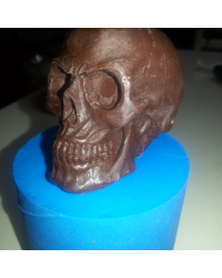 Skull silicone mould for isomalt by Simi Cakes