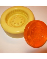 Tire or Tyre Large silicone mould for isomalt by Simi Cakes