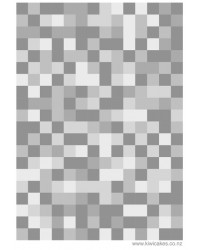 A4 Pixellated squares grey medium edible image