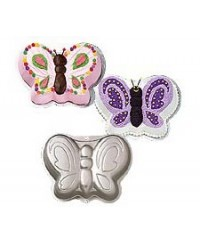 image: Butterfly cake pan use for frog & fairy too