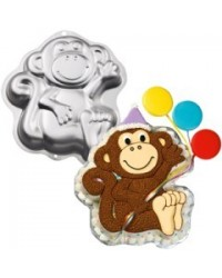 image: Monkey cake pan
