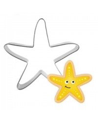 Starfish cookie cutter 8cm