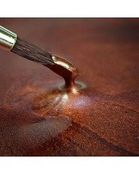 Metallic food paint Copper