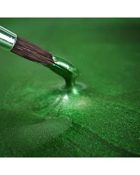 Metallic food paint Holly Green
