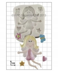 image: Funky Fairy silicone mould