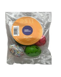 Dinosaur Eggs medium size bubblegum pack 4