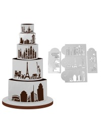City Skyline Stencils set 5