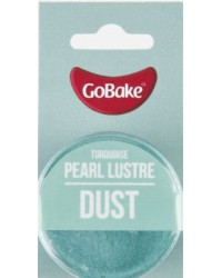 GoBake Pearl Lustre Dust Turquoise Dusting Powder