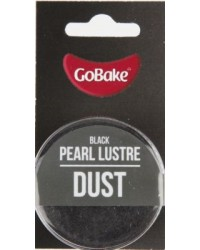 GoBake Pearl Lustre Dust Black Dusting Powder