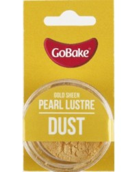 GoBake Pearl Lustre Dust Gold Sheen Dusting Powder