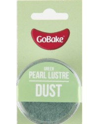 GoBake Pearl Lustre Dust Green Dusting Powder