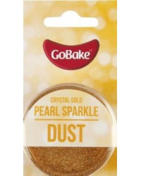 GoBake Sparkle Lustre Dust Crystal Gold Dusting Powder
