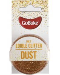 GoBake Edible Glitter Dust Gold