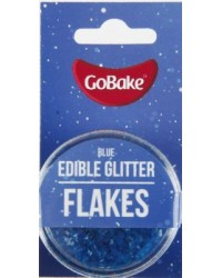 GoBake Edible Glitter Flakes Blue