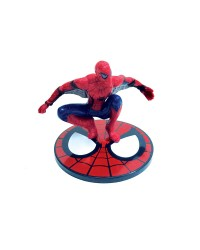 Spiderman figurine cake topper plastic