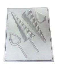Unicorn Horn and ears chocolate mould