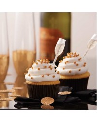 Shot Tops Champagne Glass shaped flavour infusers for cupcakes