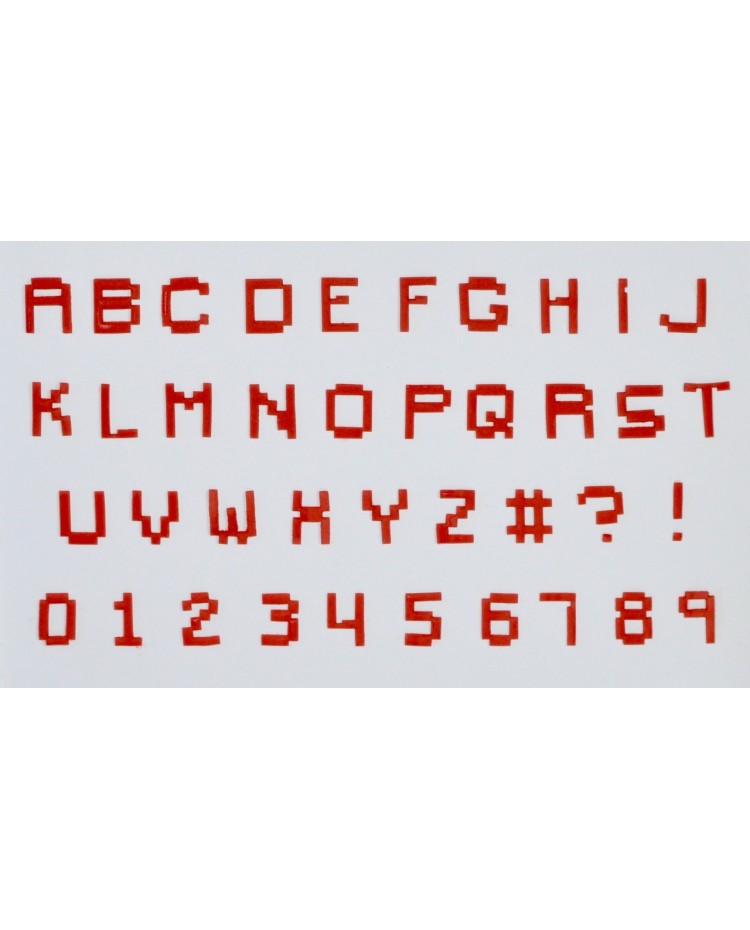 Fmm Pixel Alphabet And Numbers Tappit