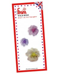 Fmm Wild Rose Flower cutter set