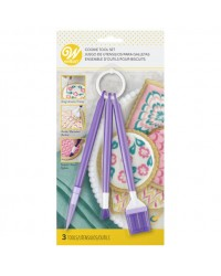 Cookie royal icing flooding decorating set