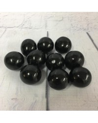 Giant black gumballs (great for drip cakes) pack 10