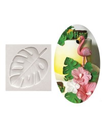Tropical Leaf silicone mould