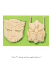 Transformers head silicone mould