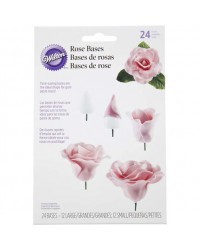 Wilton Rose bases buds (plastic)