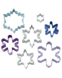 Set 7 Snowflake cookie cutters