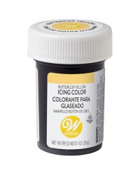 Wilton icing colour Buttercup Yellow 1oz 28.3g